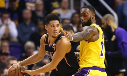 Suns vs. Lakers – 1.1.2020